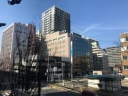 万代エリアの商業地の地価は高い上昇率で推移している(新潟市中央区)