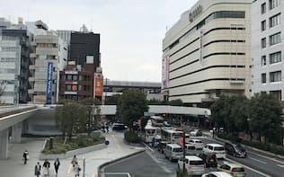 オフィス不足が続く大宮駅西口の商業地が28年連続で県内最高価格となった