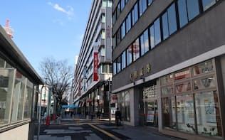 千葉市・富士見は3年ぶりに最高価格地点に返り咲いた