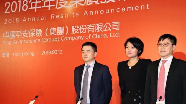 中国平安保険、フィンテックで稼ぐ 18年の部門利益25%増