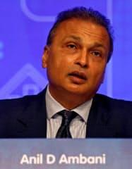 実兄の会社への資産売却の契約を撤回したRCOMのアニル・アンバニ会長=ロイター