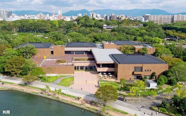 改修工事を経て約2年半ぶりにオープンする福岡市美術館=共同