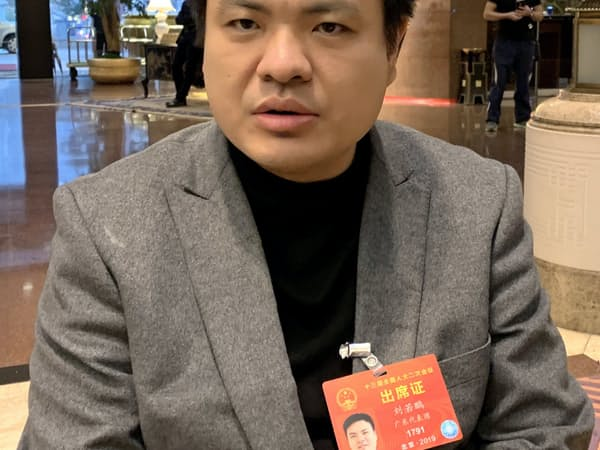 光啓技術、劉若鵬董事長