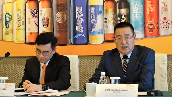 華潤ビール、純利益17%減 高価格帯の商品を投入