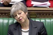 メイ首相はEUに6月末まで離脱を延期するよう要請した=ロイター