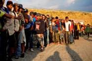 中米からの移民は後を絶たない=ロイター