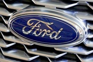 フォードは米国での投資と雇用をアピールする=AP