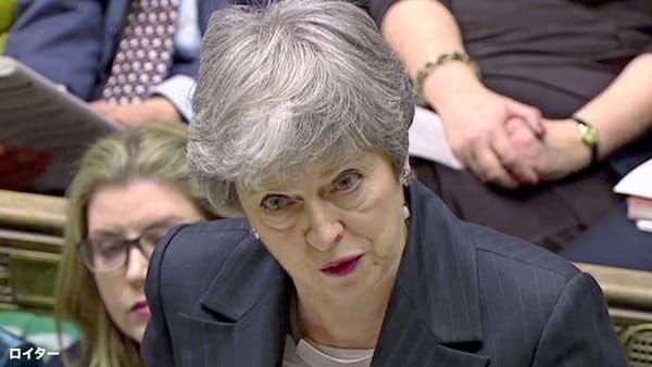 英首相「6月末以降の延期、考えていない」 EU離脱で