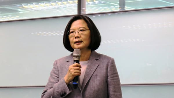 台湾の蔡総統、南太平洋3カ国歴訪に出発 関係強化へ