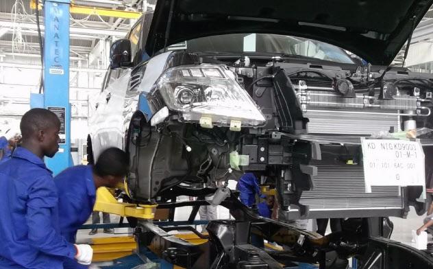 日産が14年に開設したナイジェリア・ラゴス工場