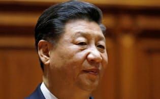 イタリアを訪問した中国の習近平国家主席=ロイター