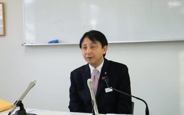 6月での退任を表明したしなの鉄道の玉木淳社長