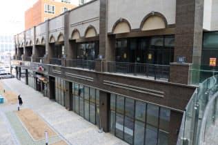 計画ではタワーマンションの1~2階の商業用地に日本食店を50店誘致する(19日、ソウル郊外の始興市)
