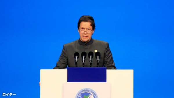 パキスタン首相「印首相から挨拶文」、対立雪解けか