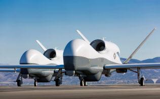 米国は無人機を運用している=ロイター