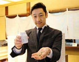 乳酸菌サプリを発売した船橋屋の渡辺雅司社長