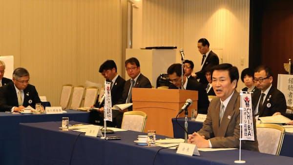 千葉の五輪推進会議、情報発信や交通対策求める