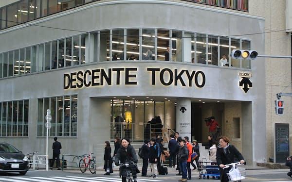 デサントは自社ブランドが収益基盤となっていると主張