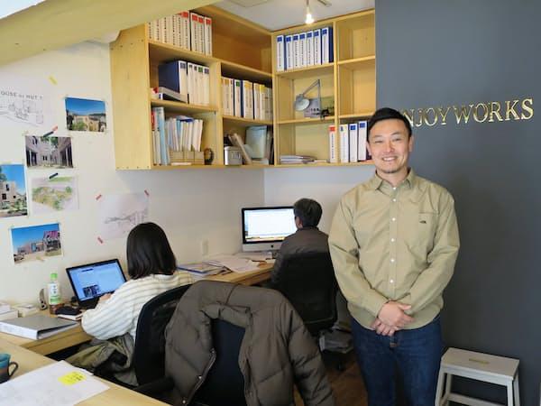 エンジョイワークスはボトムアップ型のまちづくり企業(神奈川県鎌倉市)
