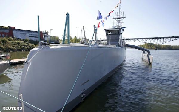 米国防総省が開発中の無人水上艦(ロイター)