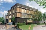 戸田中央総合病院には地上3階建ての新棟を建設する(イメージ)
