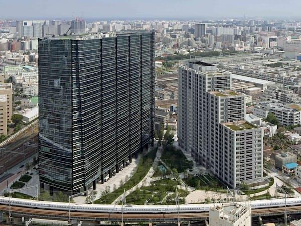 住友不動産は東京都心で再開発を拡大している(東京・品川の「大崎ガーデンタワー」)