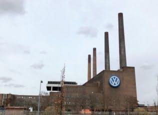 VWの全工場の設備やシステムのデータをクラウドに集める(写真は独ウォルフスブルクの本社工場)