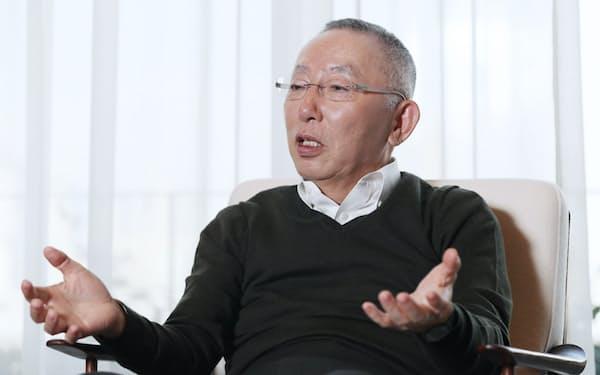 ファストリ柳井会長兼社長