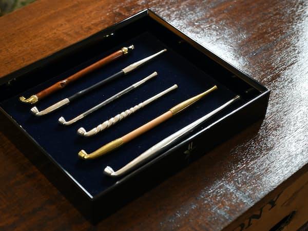 飯塚さん製作のキセル