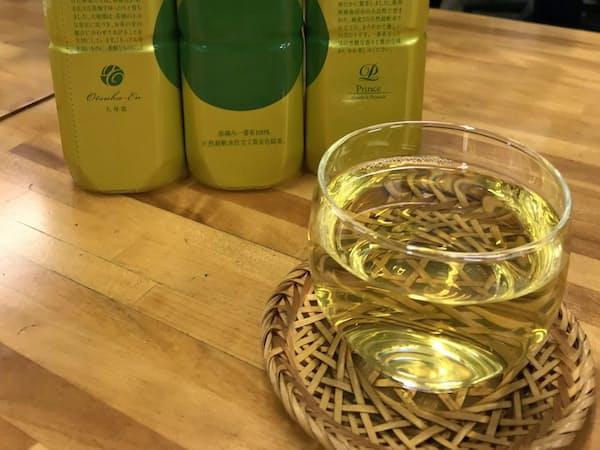 宮崎の春摘み茶で作った飲料水を発売