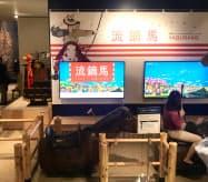 流鏑馬のゲームや駕籠(かご)乗り、忍者衣装などを体験できる(北九州市の小倉城)