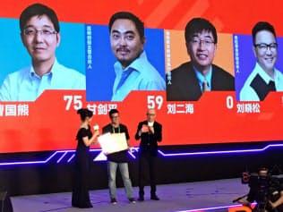 中国では資金を募る未上場企業による説明イベントが各地で開かれている(2018年秋、浙江省杭州市)