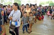 中米出身者を中心に米国を目指す移民が増えている(メキシコ南東部チアパス州)=ロイター