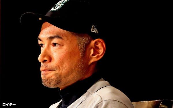 イチローは引退会見で「日本の野球はアメリカに追従する必要はない」と強調した=ロイター
