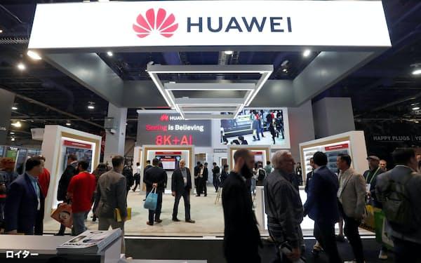 深圳は、ファーウェイ、ZTEなど有力企業が集積し、中国の国内でも特許出願でリードする(1月、ラスベガス)=ロイター