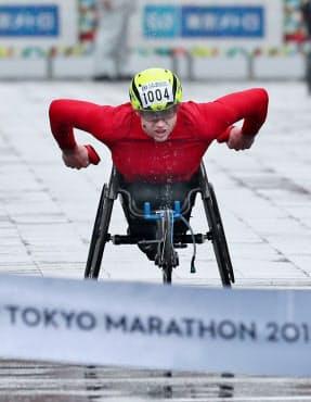 3月の東京マラソンは初来日初参戦で2位だった