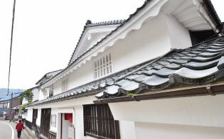 1783年の宮津大火後に再建された大壁造の旧三上家住宅(京都府宮津市)
