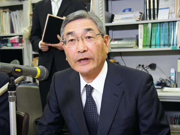 2日付で信託協会の会長についた池谷幹男氏(三菱UFJ信託銀行社長)