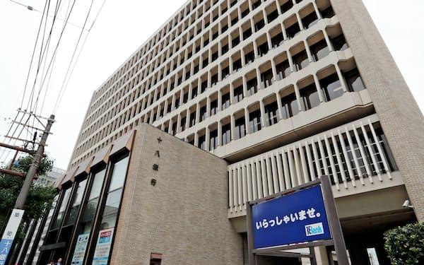 十八銀行の足腰は弱っていた(長崎市の本店)