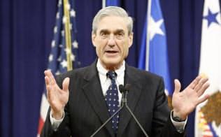 モラー特別検察官は2016年の米大統領選に介入したロシアとトランプ陣営の共謀を認定せずに捜査を終えた=ロイター