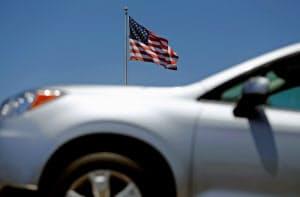 3月の米市場の日本車販売は1~2月に比べ減少幅が改善した=ロイター