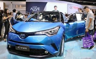 トヨタ自動車が販売するSUVのハイブリッド車「C―HR」