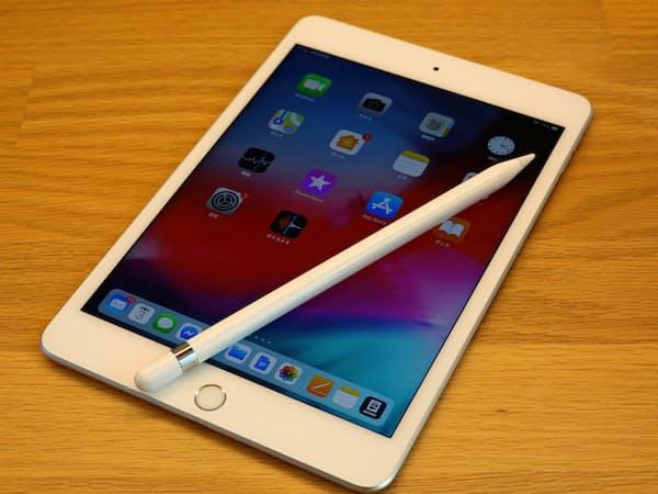 iPad mini新機種ではアップルペンシルが使える