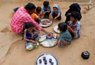 内戦が続くイエメンは深刻な飢餓に直面している=ロイター