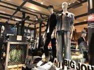 ライトオンは実店舗とネット通販の連携を強化している(東京都渋谷区)