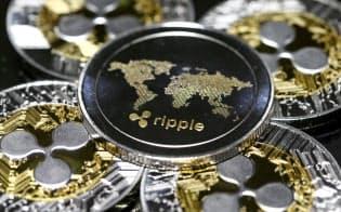 リップルの仮想通貨は価値が下がったものの、利用者の評価は高い=ロイター