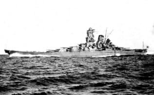 旧日本海軍の戦艦「大和」
