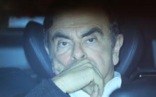 勾留が決まった日産自動車のゴーン元会長(写真は3月6日、保釈されたゴーン元会長)