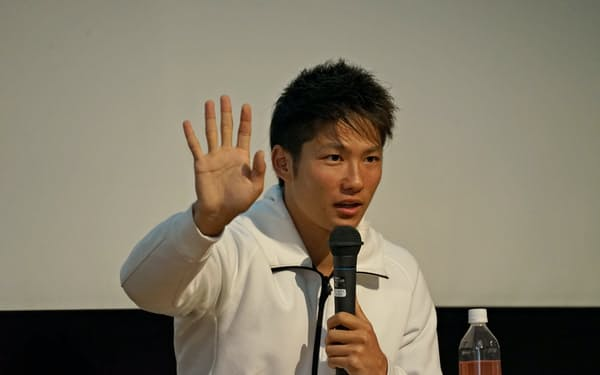 東京パラリンピック出場への意欲を語る成田選手
