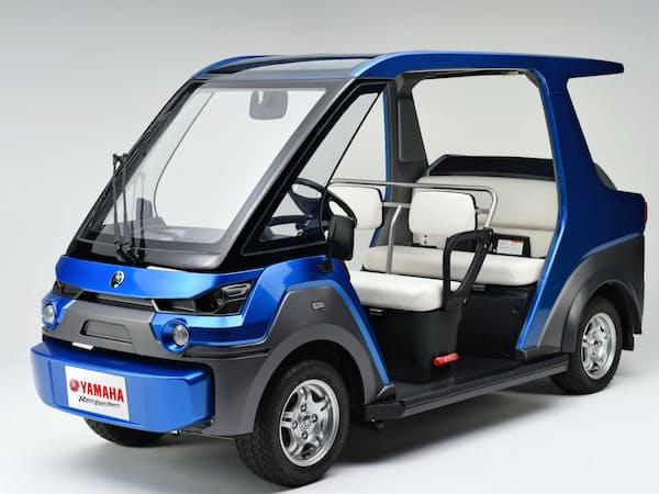ヤマハ発動機の燃料電池搭載の試験車両「YG-M FC」